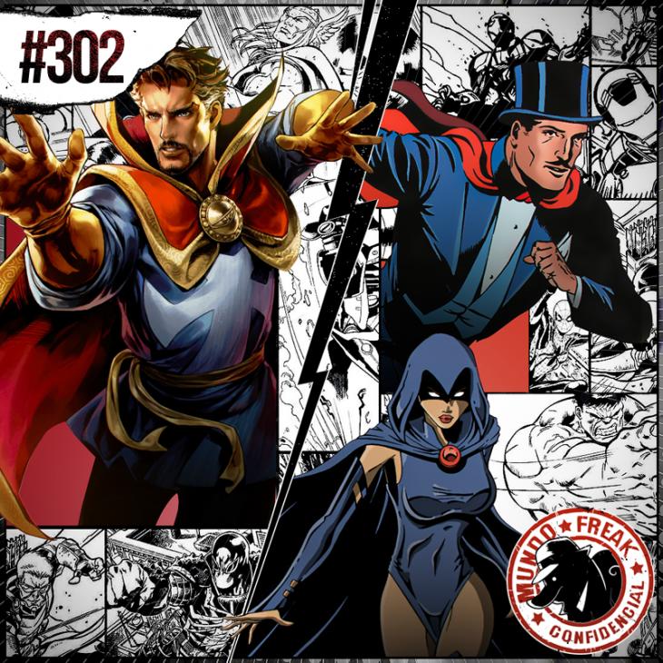 Magia nos quadrinhos   MFC 302